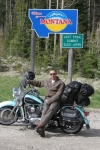 Riding the continental divide