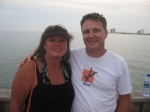 Michael and Cyndi(Grizzard) Brandenburg at Pensacola Beach July 2007 celebrating 27 years of marriage. See Pictures of f