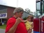 My husband and our granddaughter  We are also in The Ensley Volunteer Fire Dept.