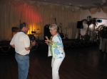 Elaine Gartman Kremin showing Johnny D. (John Desposito) a new dance move.