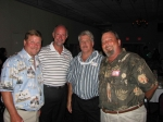 L to R: Greg Gibbs, Ken Cannon, Eddie Cutler, Martin Johnson